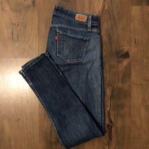 Levi's too super low 524 jeans size 3 medium